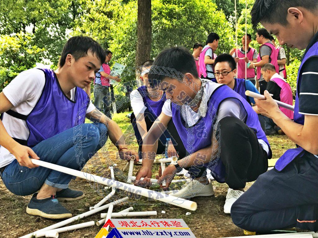 武汉拓展:某大型国企华中分公司2017年创意团建活动