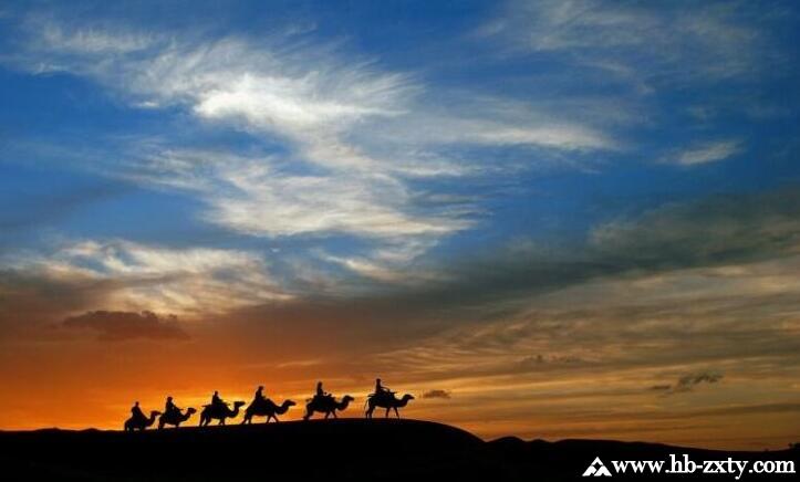 清明库布齐沙漠穿越与露营团建拓展