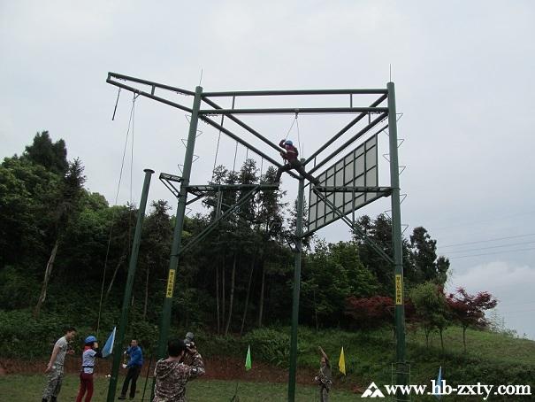 宜昌拓展:新外滩业主拓展训练活动