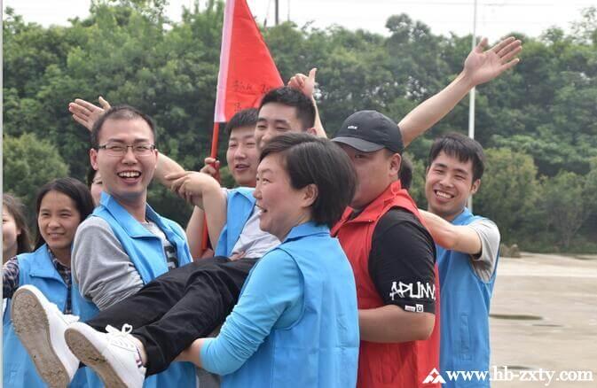 武汉中石油昆仑燃气公司拓展训练活动