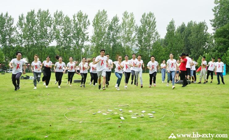 武汉市第四医院新员工入职拓展培训