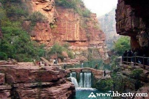 陕西拓展基地:榆林红石峡景区