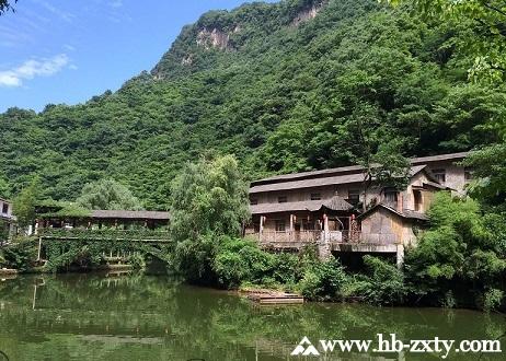 陕西拓展基地:金丝峡景区