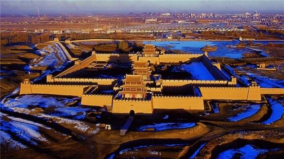 甘肃拓展基地:嘉峪关关城