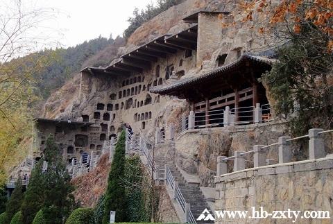 河南拓展基地:洛阳龙门石窟景区