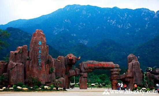 广东拓展基地:牛鱼嘴原始生态风景区