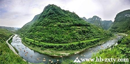 贵州拓展基地:贵阳南江大峡谷