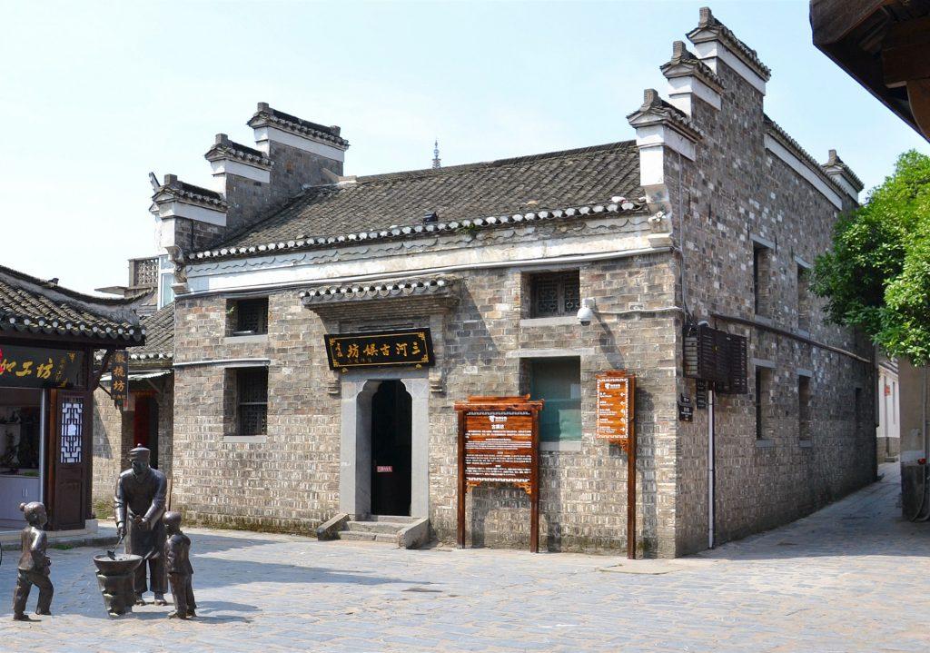 徽派印象|古城墙里的三河古镇